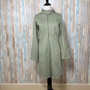 New Color Me Cotton CMC S Long Twill Jacket Green
